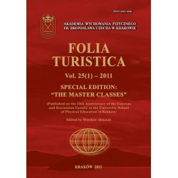 "Folia Turistica Nr 25(1)-2011 - Special Edition:""The Master Classes"""