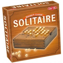 Gra Solitaire Wooden Classic