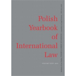 2015 Polish Yearbook of International Law vol. XXXV