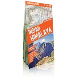 Indian Himalaya trekking map 1350 000 (laminat)