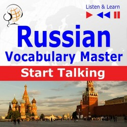 Russian Vocabulary Master: Start Talking 30 Topics at Elementary Level: A1-A2 – Listen &amp Learn