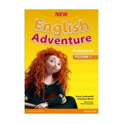 English Adventure New 1 SB + DVD PEARSON