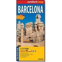 Comfort!map Barcelona 117 500 plan miasta