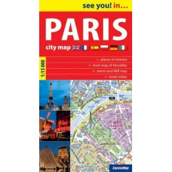 See you! in...Paris ( Paryż ) 115 000 plan miasta