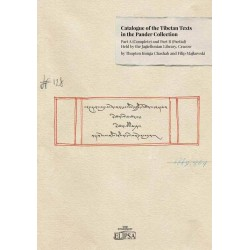 Catalogue of the Tibetan Texts in the Pander Collection Part A (complete) and Part B (Partial)