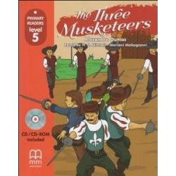 The Three Musketeers + CDROM MM PUBLICATIONS