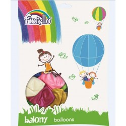 "Balony Metal 12"" mix 100szt FIORELLO"