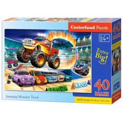 Puzzle 40 maxi Jumping Monster Truck CASTOR