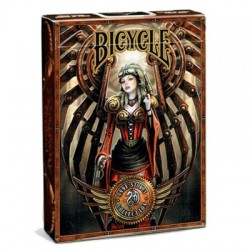 Karty Anne Stokes Steampunk BICYCLE