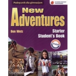 New Adventures Starter Students book GIM Jezyk angielski