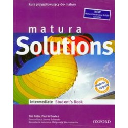 z.Matura Solutions Intermediate Student's Book + cd (stare wydanie)